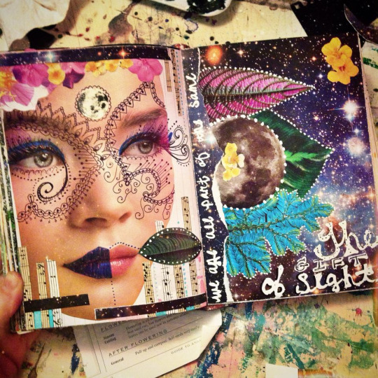 Art Journal Pages As of Lately