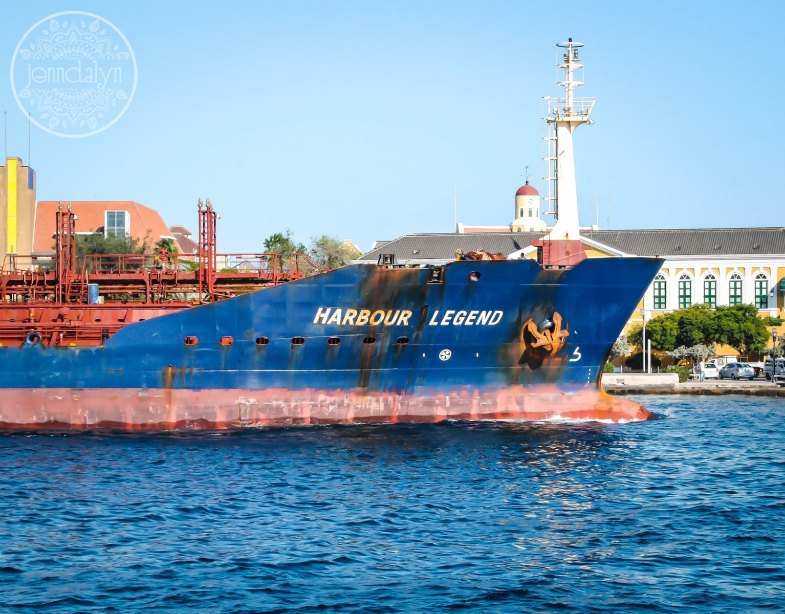 willemstad curacao container ship