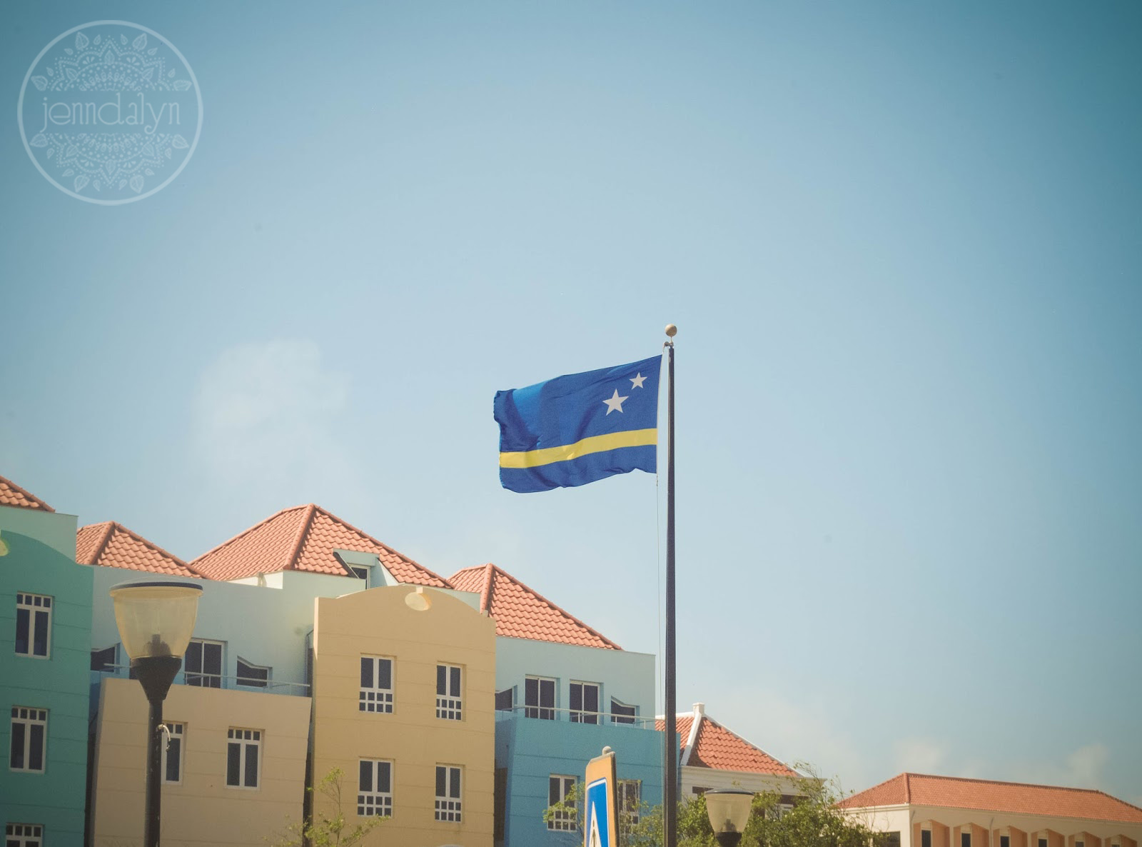 curacao flag willemstad