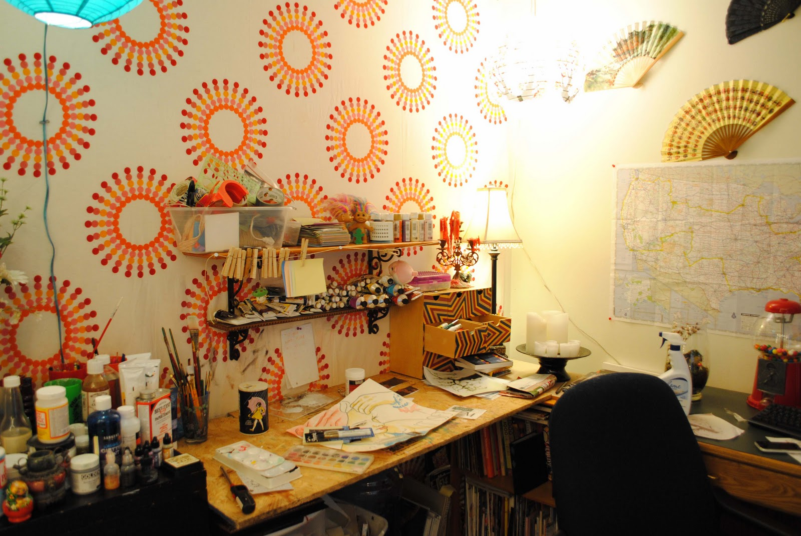 spare bedroom artist studio